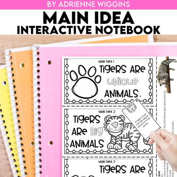 Main Idea Interactive Notebook & Mystery Bags