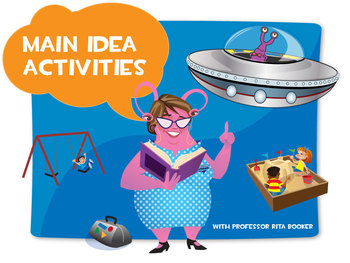 Main Idea Lesson Plan Package with Quiz, Power Point and A