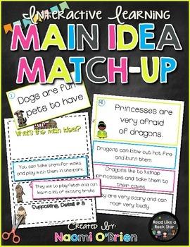 Main Idea Match-Up Game