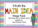 Main Idea Mega Pack- Aligned to the Common Core