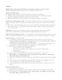 Main Idea Mini Lesson Cross Content