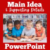 Main Idea PowerPoint | Main Idea Activities | Main Idea an