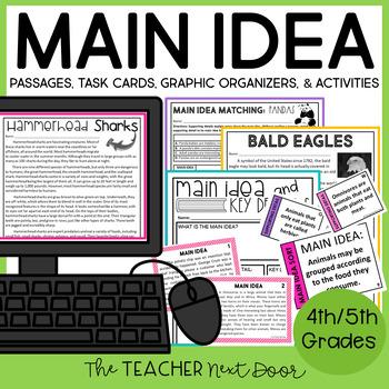 Main Idea: 4th and 5th Grade