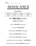 Main Idea Testing Help Sheet