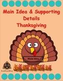 Main Idea - Thanksgiving