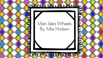 Main Idea Wheels