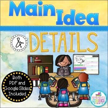 Main Idea and Details ~ NO PREP