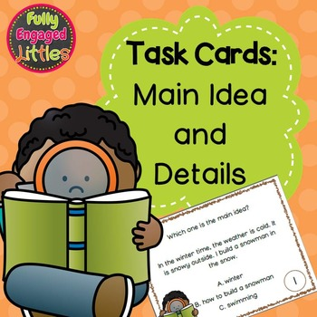 Main Idea and Details-Task Cards
