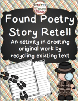 Main Idea and Key Details Poem - Retelling a Story Through