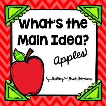 Main Idea and Supporting Details: Apples