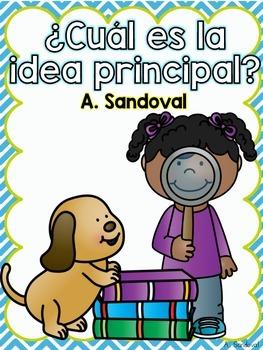 Main Idea in Spanish  Idea Principal