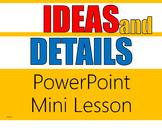 Main Ideas PowerPoint (Editable)