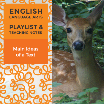 Main Ideas of a Text