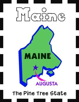 Maine State Symbols and Research Packet