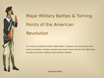 Major Battles & Turning Points of the American Revolution