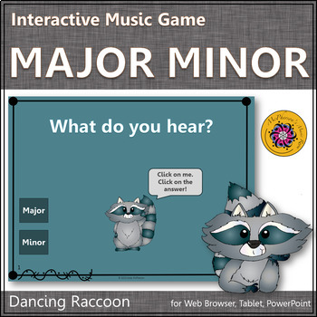 Major or Minor? Interactive Music Game {raccoon}