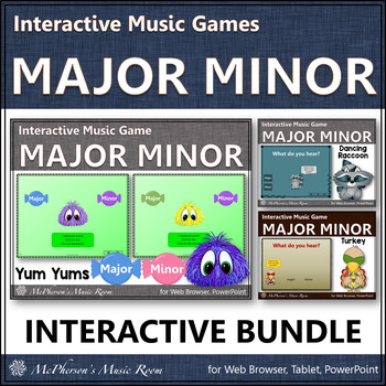 Major or Minor - Interactive Music Games {Bundle}