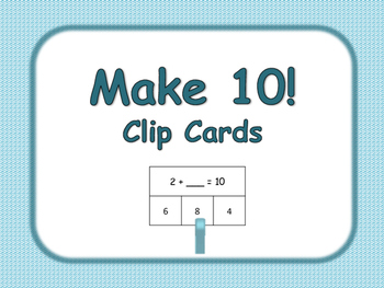 Make 10 Clip Cards
