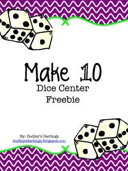 Make 10 Dice Center
