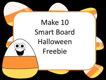 Make 10 Smart Board -Halloween Freebie