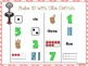 Make 10 With Ollie Ostrich ( A Four In A Row Addition Game)