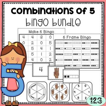 Combinations of 5 BINGO Games Bundle