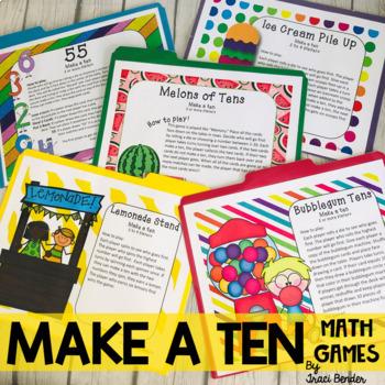 Make A Ten Math Games {6 Centers}