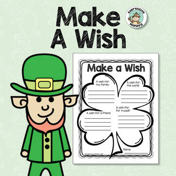 St. Patrick's Day - Make A Wish: Lucky 4-Leaf Clover