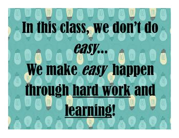Make Easy Happen Poster