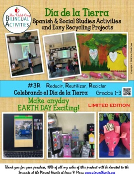 EARTH DAY EXCITING ACTIVITIES IN SPANISH!!!