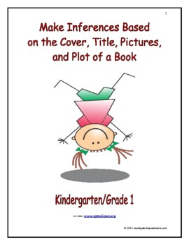 Make Inferences Based on the Cover, Title, Pictures, and P
