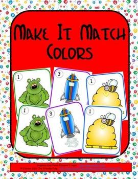 Make It Match: Colors