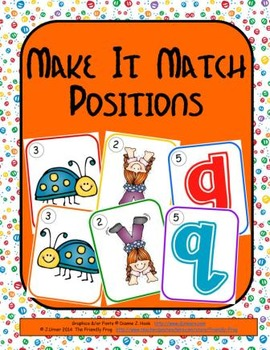 Make It Match: Positions