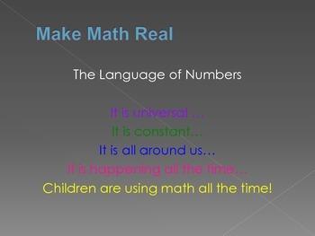 Make Math Real Mini Slide Show