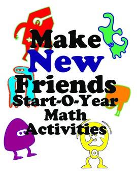 Icebreaker Math Activities for First & Second Graders: Mak