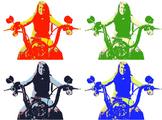 Make Pop Art Digitally~Automator Workflow (Mac Only)