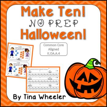 Make Ten NO PREP Halloween