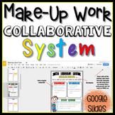 Make-Up Work Collaborative System in Google Slides