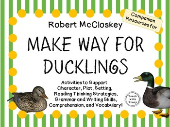Make Way for Ducklings by Robert McCloskey:    A Complete