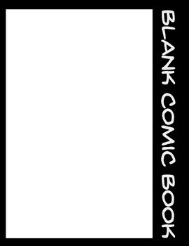 Make Your Own Comic Books - 32 Page Blank Comic Book