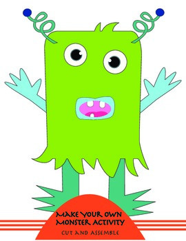 Make Your Own Monster Activity