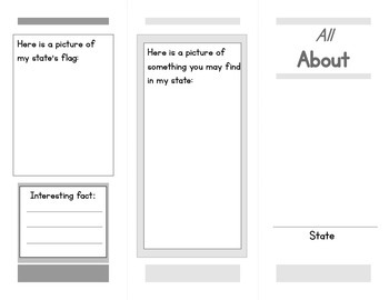Make a Brochure about a State