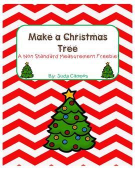 Make a Christmas Tree (Measurement Freebie)