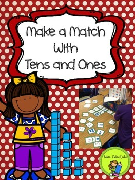 Make a Match Tens and Ones