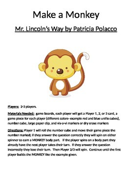 Make a Monkey: Mr. Lincoln's Way by Patricia Polacco