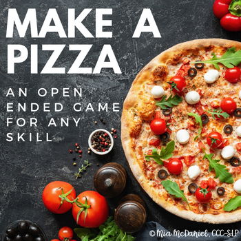 Make-a-Pizza-Pie {an open ended game}