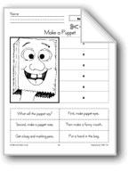 Make a Puppet (Sequence Stories)