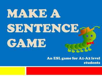 Make a Sentence Game