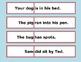 Make-a-Sentence Match Game (First 100 Fry words)