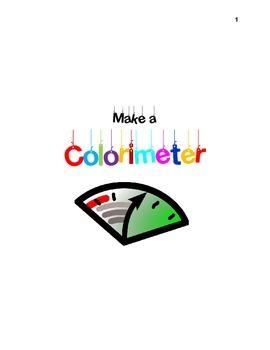 Make a colorimeter